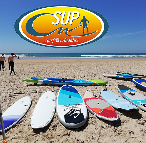 SUP Surf Andaluz in Andalusien